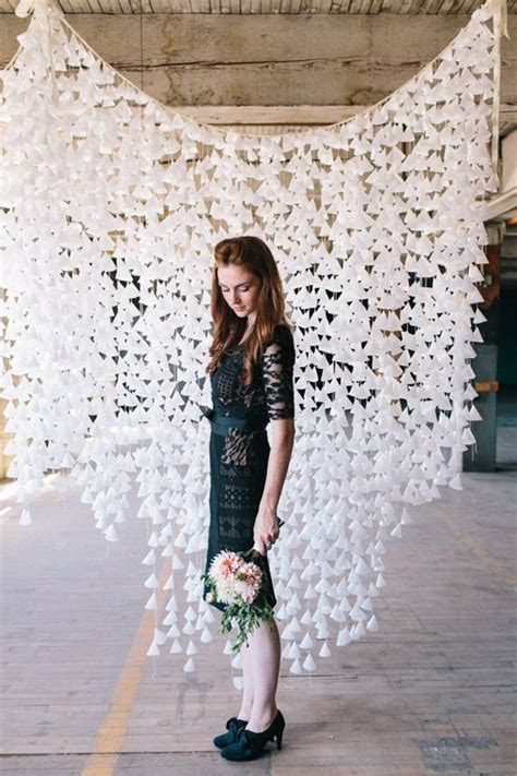diy  fascinating wedding backdrop ideas   easy