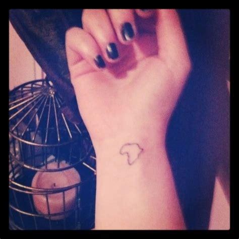 africa     small tattoo