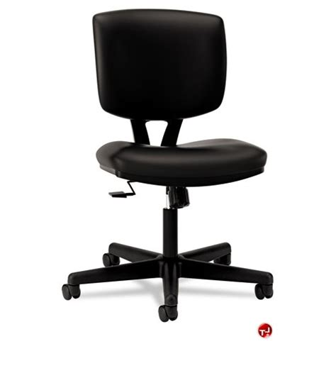 the office leader paz low back office task armless swivel