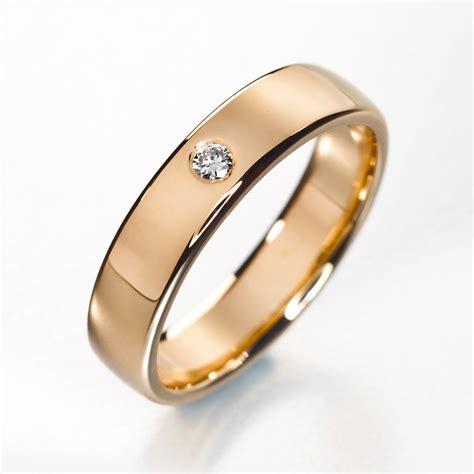 simple engagement ring simple diamond wedding band by korusdesign