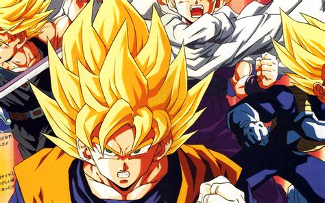 ab wallpaper dragonball  goku fire anime papersco