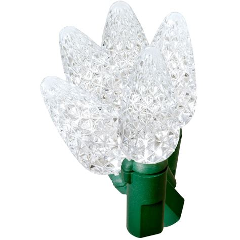 ge  stay bright led christmas light set clear  ct