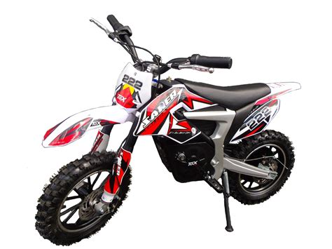 Mini Moto Cross Dirt Bike Rouge