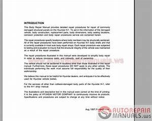 Hyundai All Model Full Shop Manual Dvd