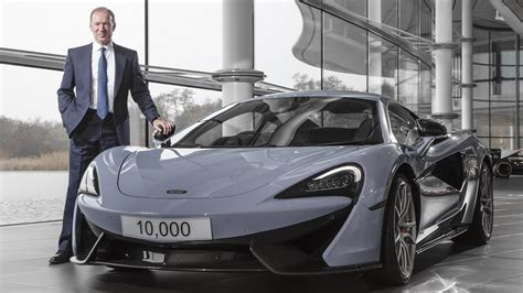 mike flewitt mclaren automotive  revving  production