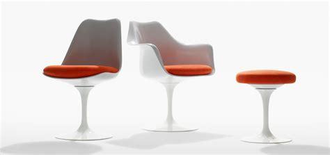 coussin chaise tulipe knoll tulip armless chair knoll