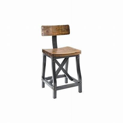 Stool Counter Rustic Industrial Stools Bar Cheyenne