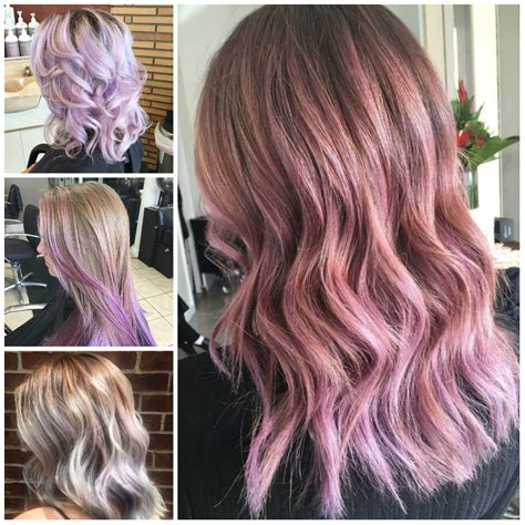 Light Purple Hair Colors 2019 Haircuts Hairstyles And