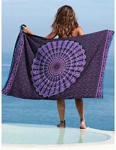 Serviette De Bain : par o serviette lawu serviette de plage serviette de bain ~ Teatrodelosmanantiales.com Idées de Décoration