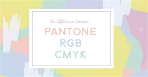 what s the difference between color and colour what s the difference between pantone cmyk and rgb