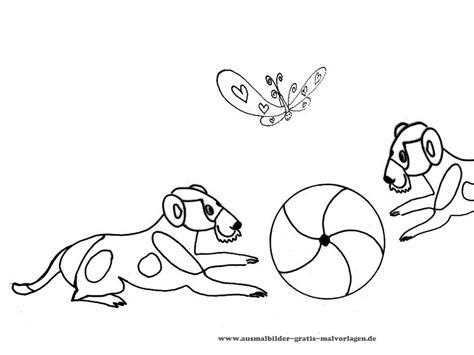 Hunde Ausmalbilder Kostenlose