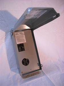 Get Cheap Midwest U054c Rainproof Rv Power Outlet Box With