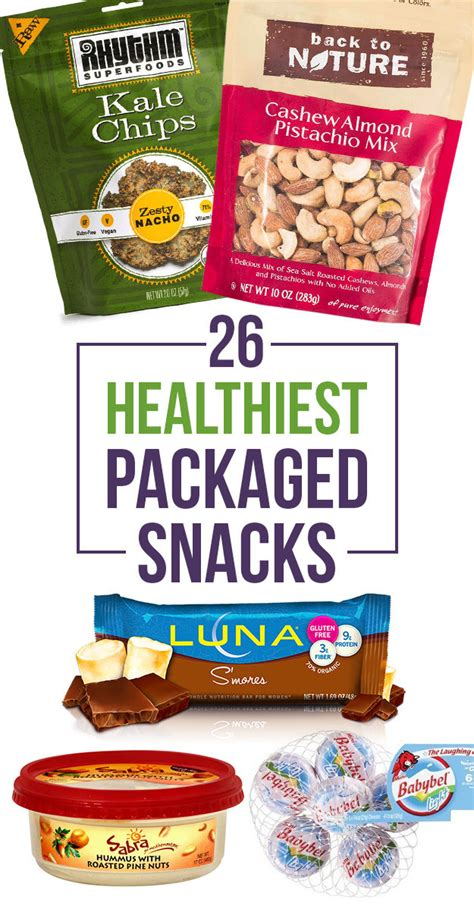 26 packaged snacks to eat when you re trying to be healthy