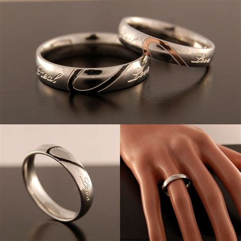 new silver plated womens wedding ring mens band half size h to z 5 ebay