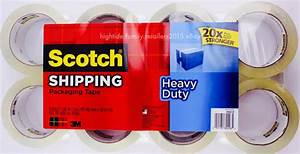 3m Scotch Shipping Packaging Tape Heavy