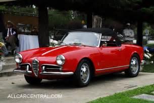 1956 Alfa Romeo Giulietta  Information And Photos Momentcar
