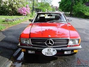 1982 Mercedes 280sl European Model  Gorgeous Car