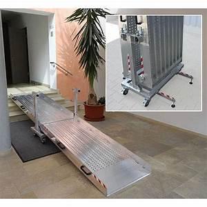 Rampe D Accès Pliable : rampe d 39 acc s pliable pmr ~ Nature-et-papiers.com Idées de Décoration