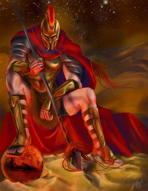 Bme Artwork Ares God Of War