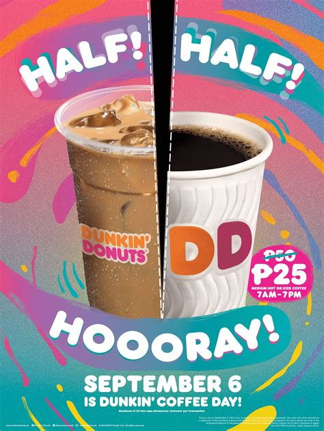 So today video i want to teach people how to make coffee at dunkin donuts because everyone deserves a chance to learn the job and get paid donations paypal. Dunkin' Donuts Coffee Day Promo 2019 - September 6 ONLY