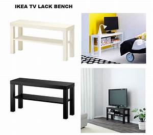 IKEA LACK TV BENCHSTAND WITH SHELF BRAND NEW 2 COLOR