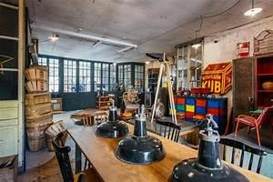 Objet Deco Industrielle : 5 francs d co industrielle et design brut ~ Teatrodelosmanantiales.com Idées de Décoration