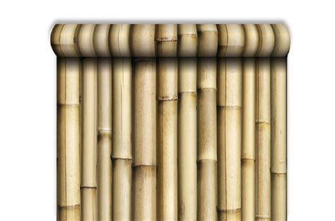 papier peint trompe l oeil bambou papiers peints zen pas cher
