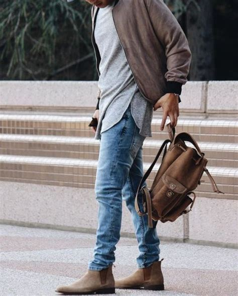21 Cool Men Outfit Ideas With Chelsea Boots | The Male Mannequin. | Pinterest | Mens fashion ...