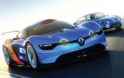 Renault Alpine 4 Cool Car Wallpaper