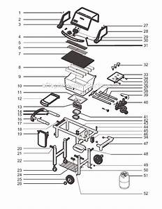 Weber 6221411 Parts List And Diagram