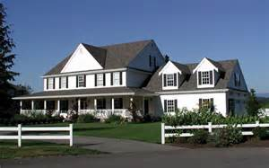 Farmhouse Styles by American Farmhouse History House Plans And More