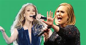 Adele and Celine Dion may team up for an epic pop duet ...