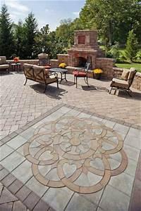 interesting patio design ideas using pavers Paver Patio Designs and Ideas