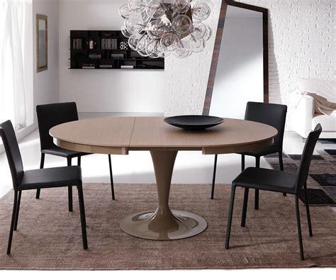 Tisch Holz Rund by Ozzio Design Runder Ausziehbarer Tisch Eclipse T310