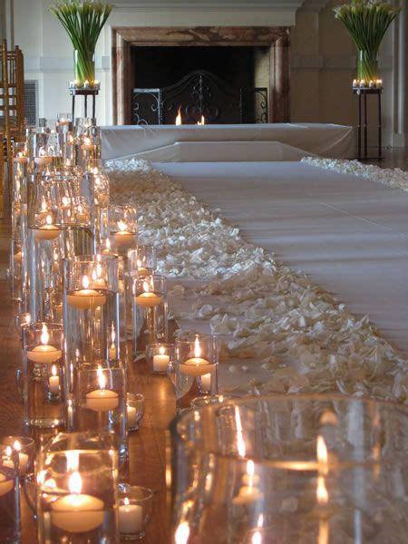 25 best wedding aisle candles ideas on