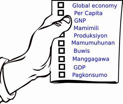 Economics Terms Clipart Economic Clip Cliparts Clker