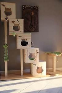 Arbre à Chat Fait Maison : construire maison chat exterieur ventana blog ~ Melissatoandfro.com Idées de Décoration