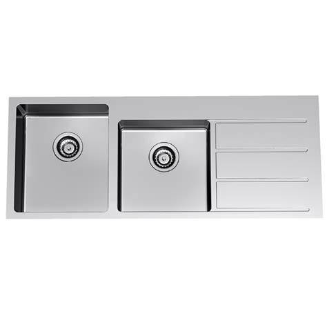 Sink Overmount S/s Epure 1.75eb Lhb 1th Evo175o.1l