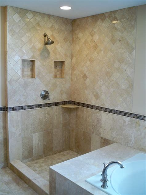 travertine master bath traditional bathroom