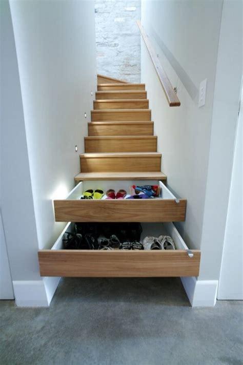 construire un escalier droit id 233 es pour am 233 nager des rangements sous escalier habitatpresto