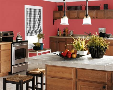 best color to paint kitchen making your home sing red paint colors for a kitchen