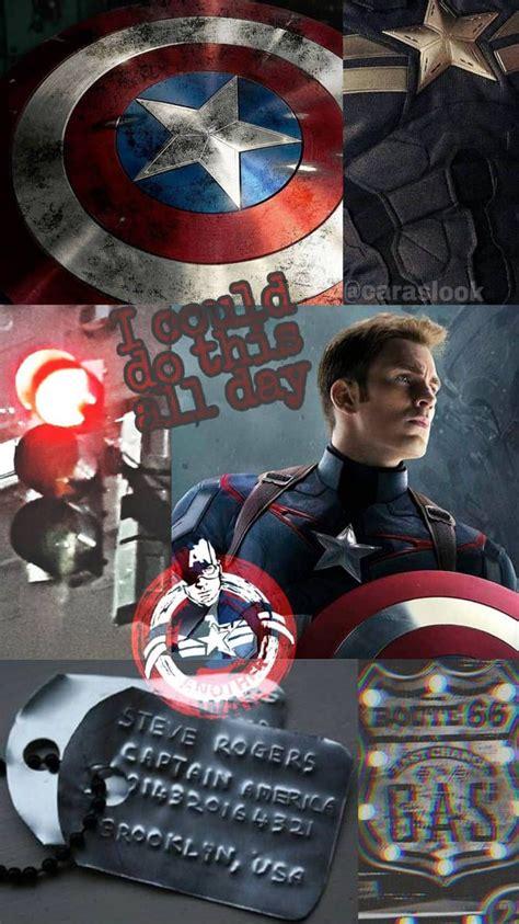 captain america aesthetic wallpaper  httpswww
