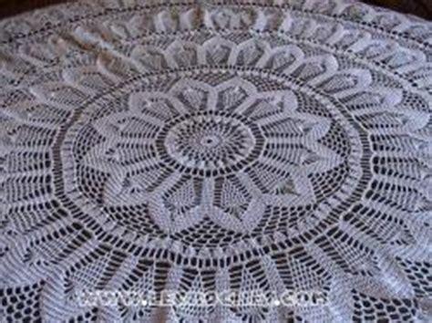 patron gratuit nappe ronde crochet