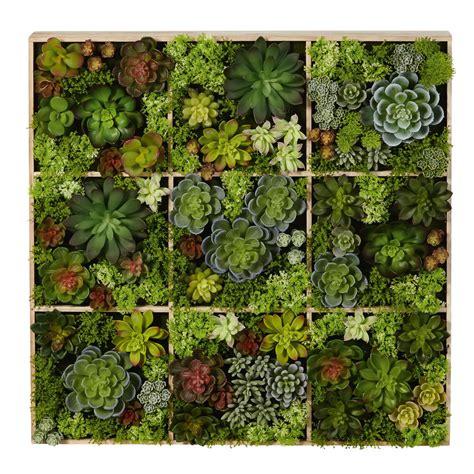 decoration murale plante d 233 co murale plantes artificielles 17x70 flavie maisons