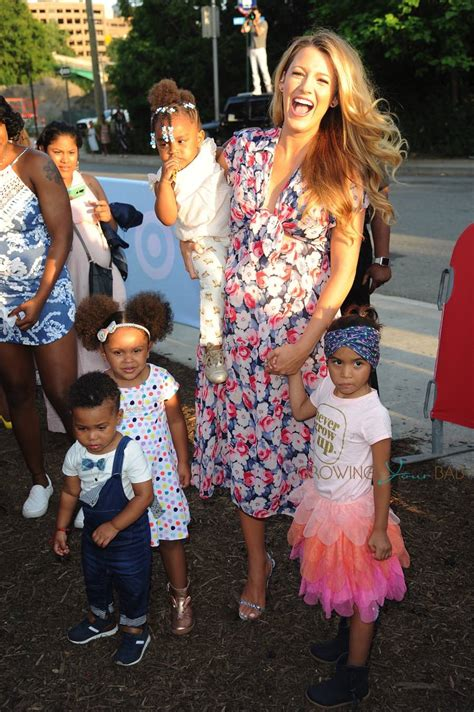 pregnant blake lively   target cat jack launch