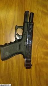 ARMSLIST - For Sale: glock 23 with chrome slide 3 mags
