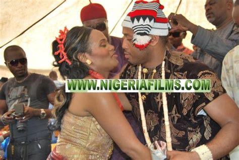 mike ezuruonyes traditional wedding  celebrities