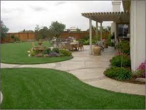 Backyard Landscaping Plans by Create Simple Back Garden Ideas In Your Back Yard