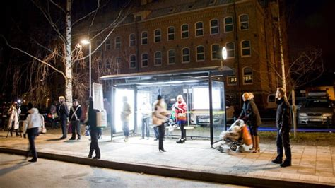 Light-therapy bus shelters set to cheer up Swedes in