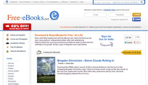 10 Best Websites To Download Free Ebooks